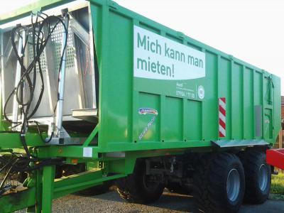 Abschiebewagen Demmler 37,5 cbm