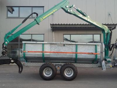 Rückewagen Pflanzelt S-9