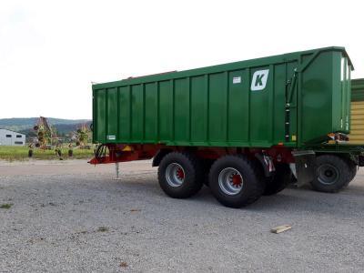 Abschiebewagen Kröger 42 cbm